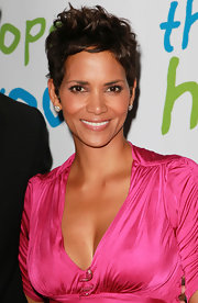 We never get tired of Halle Berry's signature messy pixie. What can we say, the woman rocks the boy cut!