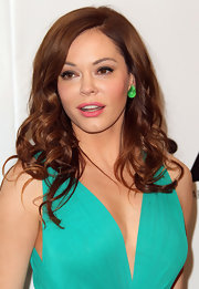 Rose McGowan wore a pair of earrings in jade and rock crystal at the 2011 MOCA Gala.