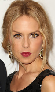 Rachel Zoe wore her hair in a low, loose ponytail with a few face-framing strands at the 2011 MOCA Gala.