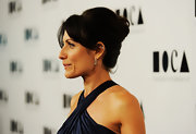 Lisa Edelstein wore her hair in a classic french twist at the 2011 MOCA Gala.