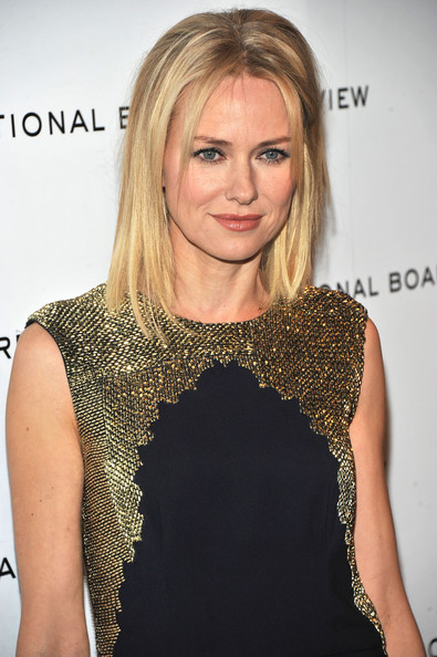 More Pics of Naomi Watts Medium Straight Cut (1 of 6) - Naomi Watts Lookbook - StyleBistro