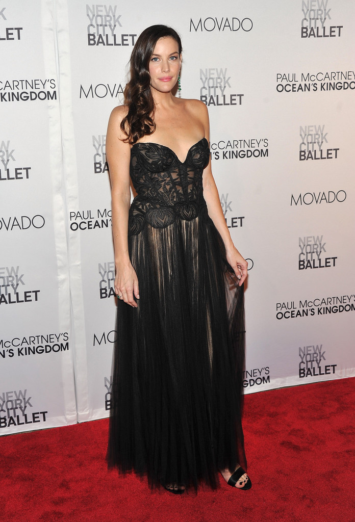 Actress Liv Tyler attends the 2011 New York City Ballet Fall Gala at the David Koch Theatre at Lincoln Center on September 22, 2011 in New York City.