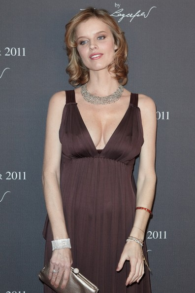 Eva+Herzigova in 2011 Pirelli Calendar - Cocktail Reception - Arrivals