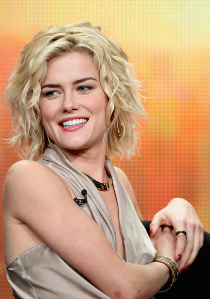More Pics of Rachael Taylor Short Wavy Cut (1 of 17) - Rachael Taylor Lookbook - StyleBistro [television show,charlies angels,hair,blond,beauty,hairstyle,skin,chin,smile,lip,photography,photo shoot,rachael taylor,the beverly hilton hotel,beverly hills,california,abc television group,disney,summer tca,portion]