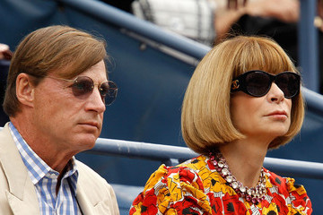Anna Wintour Shelby Bryan 2011 US Open - Day 13