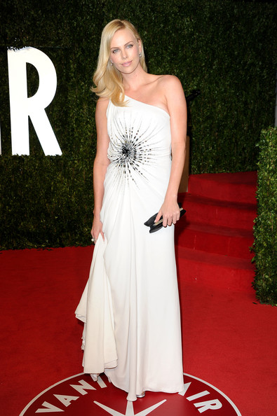 Charlize+Theron in 2011 Vanity Fair Oscar Party Hosted By Graydon Carter - Arrivals