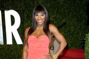 Serena Williams Dons an Ines Di Santo Coral Taffeta Gown for Vanity Fair's Oscar Party