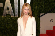 Claire Danes Wears Calvin Klein Collection to Elton John's Oscar Party