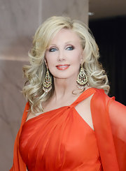 Morgan Fairchild looked downright divine with her blonde curls flowing during the 2011 White House Correspondents' Association Dinner.