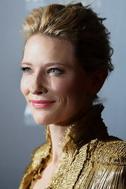 Cate Blanchett wore her jaw-length bob loosely pinned up at the 2012 AACTA Awards.