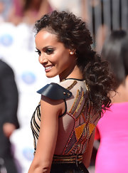 We are loving Selita's thick curls at the BET Awards!