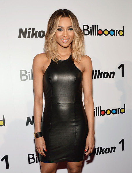 More Pics of Ciara Medium Wavy Cut (1 of 8) - Ciara Lookbook - StyleBistro
