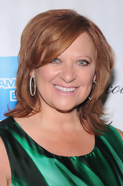 Caroline Manzo looked hip at the 2012 Couture Council with this layered 'do.