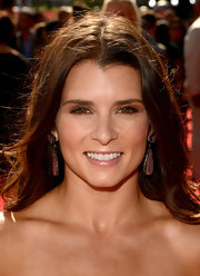 Danica Patrick wore nude lipgloss to the ESPY Awards.