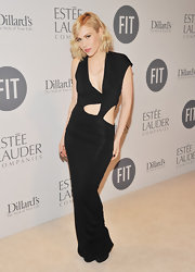 Natasha Bedingfield wore this asymetrical cutout dress to the Educational Development Fund Benefit.