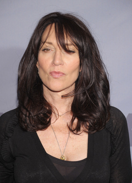 Katey Sagal wore a high-volume 'do with wispy bangs at the 2012 FX Ad Sales Upfront.