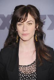Maggie Siff tied her hair half up at the 2012 FX Ad Sales Upfront.