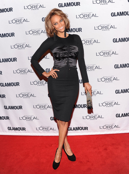 More Pics of Tyra Banks Short Wavy Cut (3 of 5) - Tyra Banks Lookbook - StyleBistro