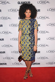 Solange Knowles always fulfills our daring fashion craving with looks like this one!