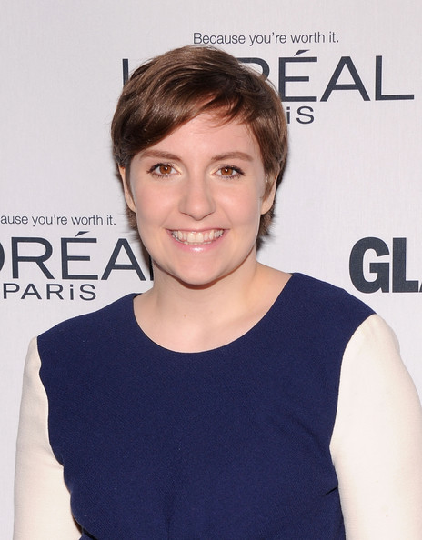 More Pics of Lena Dunham Cocktail Dress (1 of 5) - Lena Dunham Lookbook - StyleBistro