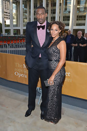 NBA star Amare Stoudemire attended the Metropolitan Opera Opening Night looking like a gentleman in his black suit.