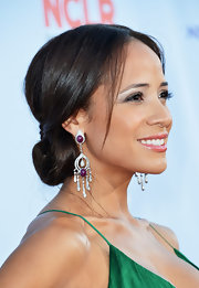 Dania wore her hair in the most elegant of low updos at the ALMA Awards.