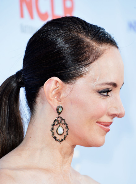 More Pics of Madeleine Stowe Ponytail (1 of 17) - Madeleine Stowe Lookbook - StyleBistro