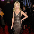 Angela Kinsey in Hervé Léger by Max Azria
