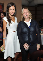 Camilla Belle looked lovely at the Tribeca Film Festival in one of Kate Middleton's favorite designers.