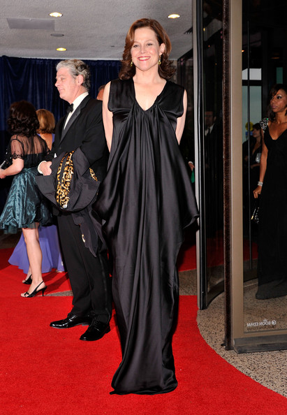 More Pics of Sigourney Weaver Evening Dress (1 of 3) - Sigourney Weaver Lookbook - StyleBistro