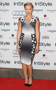 Look out! Lara Bingle wore some fearlessly daring polka-dots for the Women of Style Awards.