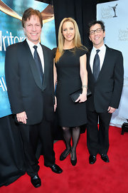 Lisa Kudrow went for a low-key look with this simple LBD at the 2012 Writers Guild Awards.