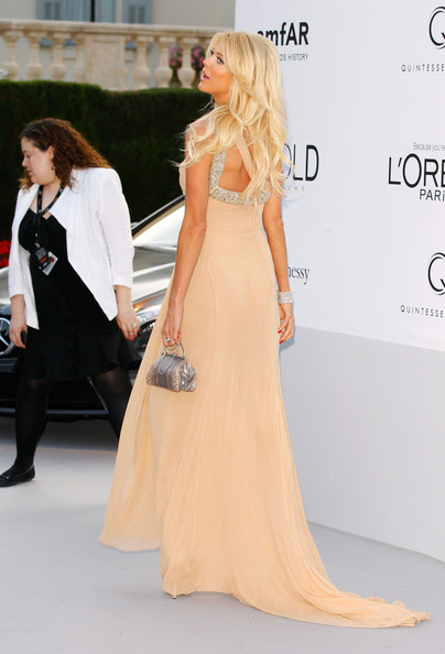 More Pics of Victoria Silvstedt One Shoulder Dress (1 of 5) - Victoria Silvstedt Lookbook - StyleBistro