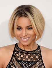Ciara debuted a shorter bob when she attended the American Music Awards.