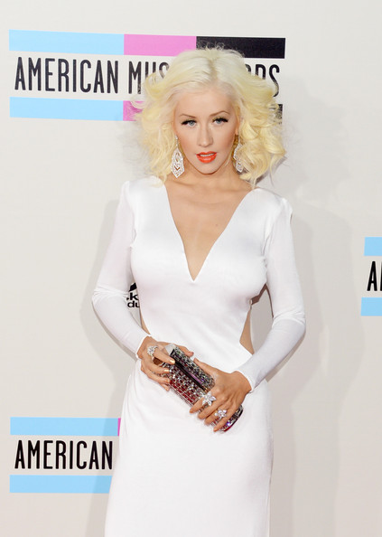 More Pics of Christina Aguilera Medium Curls (1 of 17) - Medium Curls Lookbook - StyleBistro