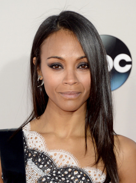 More Pics of Zoe Saldana One Shoulder Dress (1 of 11) - One Shoulder Dress Lookbook - StyleBistro