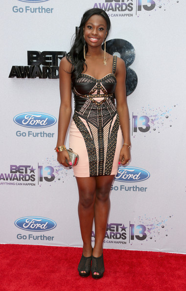 Coco Jones at the BET Awards