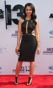 Regina's LBD featured sexy cutout detailing at the 2013 BET Awards.