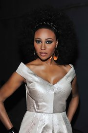Cynthia Bailey's braided afro gave her a glamorous look at the 2013 Bronner Bros. ICON Awards.