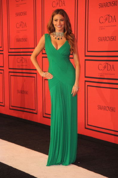 Sofia Vergara Wore Herve L. Leroux at the CFDA Fashion Awards
