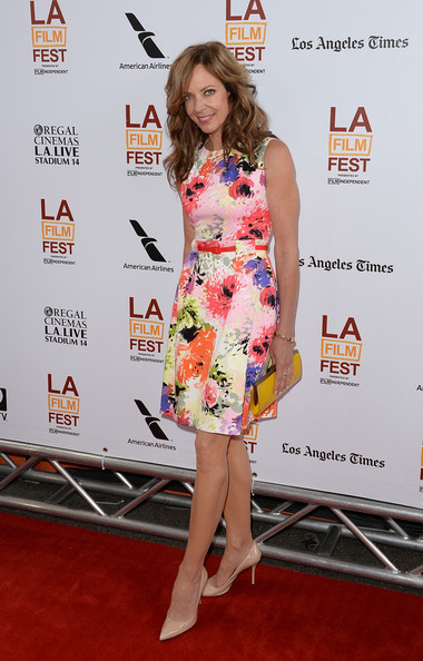 More Pics of Allison Janney Long Wavy Cut (1 of 9) - Long Wavy Cut Lookbook - StyleBistro