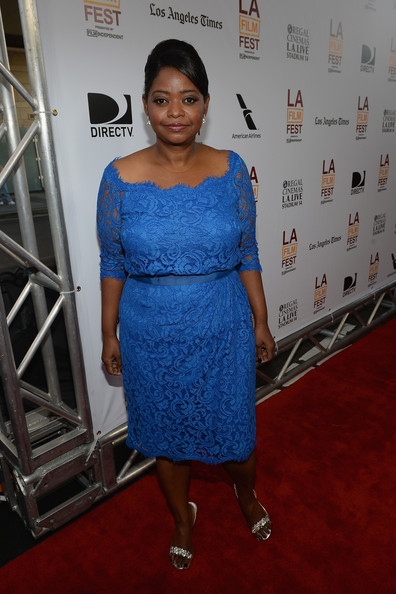 More Pics of Octavia Spencer Bobby Pinned Updo (1 of 27) - Bobby Pinned Updo Lookbook - StyleBistro