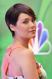 Megan Boone's soft pixie was a lovely and modern choice for the actress.