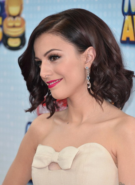 More Pics of Cher Lloyd Short Wavy Cut (4 of 17) - Short Hairstyles Lookbook - StyleBistro