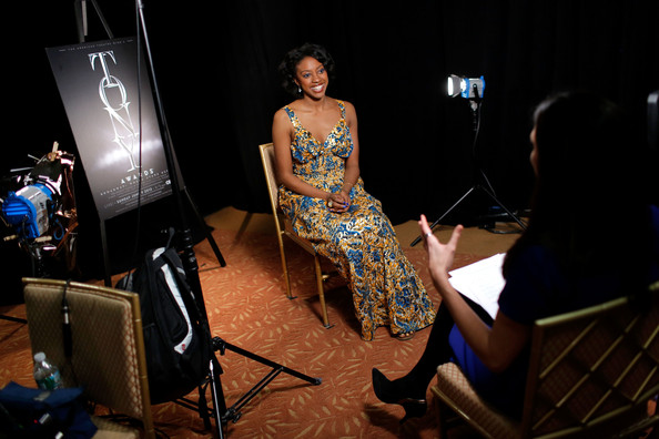 More Pics of Condola Rashad Bright Eyeshadow (1 of 9) - Condola Rashad Lookbook - StyleBistro