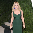 Amy Poehler Wore Herve H. Leroux at the Vanity Fair Oscars Party 2013