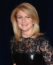 Arianna Huffington's layered locks looked sleek and professional at the White House Correspondents' Dinner.