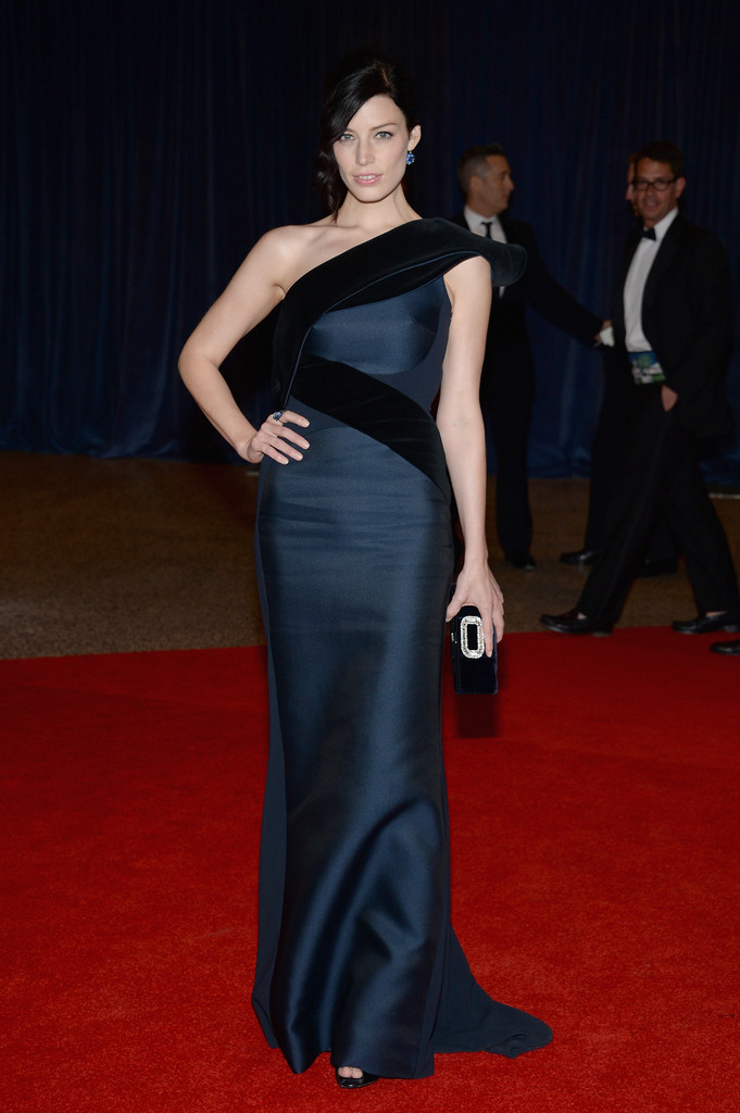 Actress Jessica Pare attends the White House Correspondents' Association Dinner at the Washington Hilton on April 27, 2013 in Washington, DC.