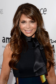 Paula Abdul was head-to-toe sexy at the amfAR Inspiration Gala with her flowy waves and wasp-waist dress.
