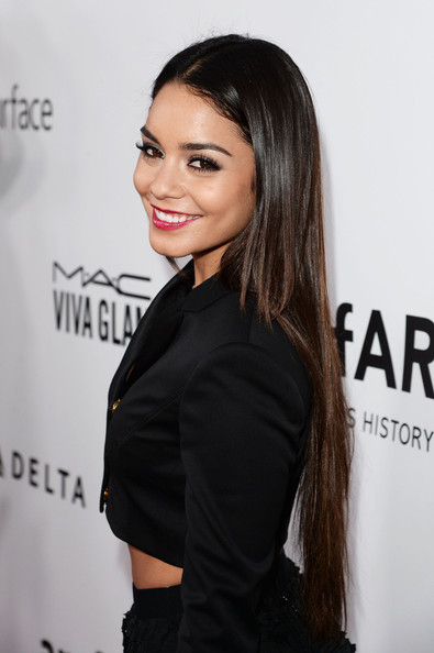 Vanessa Hudgens wore her hair Vanessa Hudgens Straight Hair